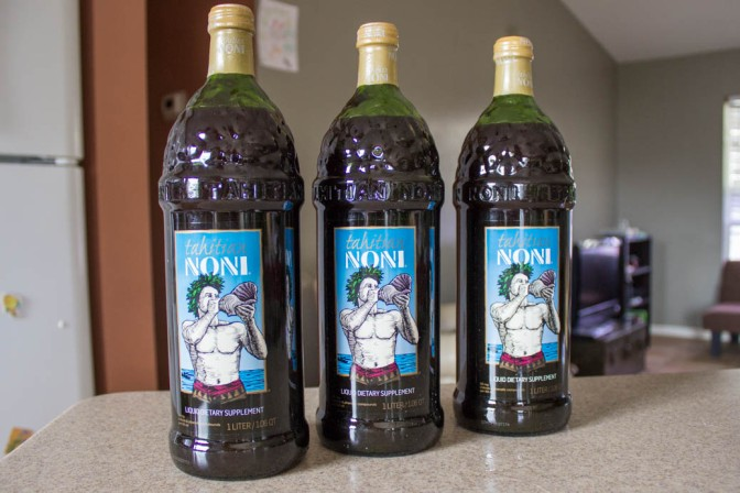 Autism and Noni Juice. An anti-inflammatory and so much more.